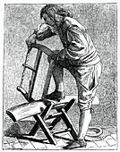 A Wood Cutter, 1737-1742