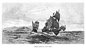 Torres sighting Cape York, 1606, (1886)