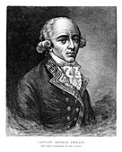 Arthur Phillip, British Admiral and colonial governor