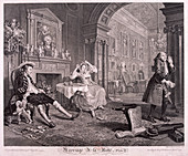 Marriage a la Mode', 1745; plate II