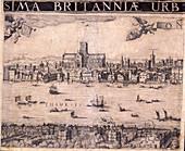 Panorama of London, 1629