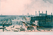 View of London, 1804