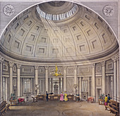 Bank of England, Threadneedle Street, London, c1840