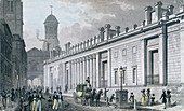 Bank of England, Threadneedle Street, London, 1828