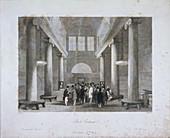 Stock Exchange, Bartholomew Lane, London, c1841