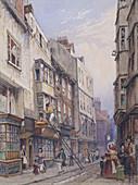Bell Yard near Chancery Lane, London, 1835