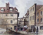 Chick Lane, London, c1840