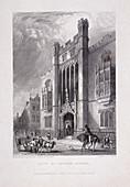 City of London School, London, 1837