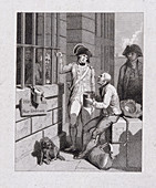 Fleet Prison, London, 1821