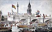 London Bridge (new), London, 1831