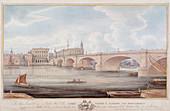 London Bridge (new), London, c1835