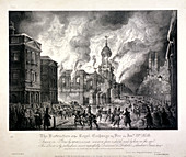 Royal Exchange (2nd) fire, 1838