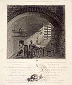 Cold Bath Fields, Finsbury, London, 1819