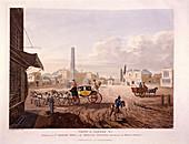 St George's Fields, Southwark, 1813