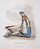 A barrow woman, Provincial Characters, 1813