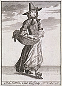 Old Sattin, Old Taffaty or Velvet', Cries of London