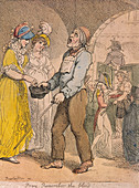 Pray remember the blind' Cries of London, 1811