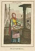 Mackerel ', Cries of London, 1804