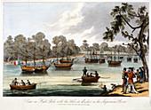 Hyde Park, London, 1814