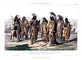 Aborigines of North America', 1873