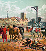 Wallace Executed', 1305, (c1850)