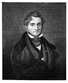 Justus von Liebig (1803-1873), German chemist, 1900