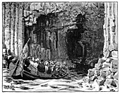 The Royal Visit to Fingal's Cave, Staffa, Scotland, 1847