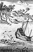 Robinson Crusoe , c1719