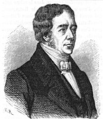 Hans Christian Oersted, Danish physicist, c1870