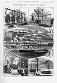 Joseph Crosfield and Son's soap factory, Cheshire, 1886
