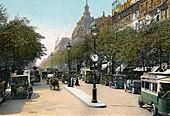 Boulevard des Italiens, Paris, c1900