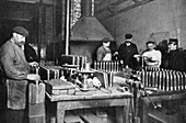 British munitions factory, World War I