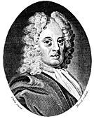 Edmond Halley, English astronomer and mathematician, c1720