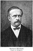 Hermann von Helmholtz, German physicist