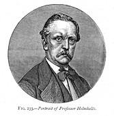 Hermann von Helmholtz, German physicist and physiologist