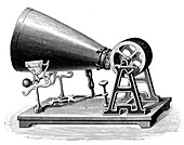 Mid-19th century Phonautograph, c1880