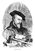 Georgius Agricola, German physician and metallurgist
