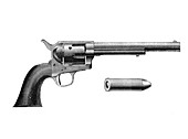 Colt Frontier revolver, invented by Samuel Colt, c1890