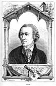 Leonhard Euler, Swiss mathematician, 1874