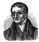 John Dalton, English chemist, 1881