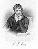 Humphry Davy, English chemist in 1803