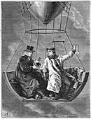 Jean Baptiste Biot and Joseph Gay-Lussac, French scientists
