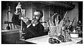 Henri Moissan, French chemist, c1900