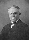 Robert Andrews Millikan, American physicist, 20th century