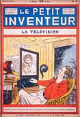 Video-phone using neon tubes, c1927