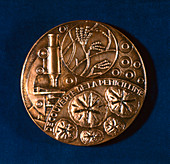 Medal commemorating the discovery of penicillin, 1945