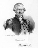 Comte de La Perouse, French astronomer and explorer