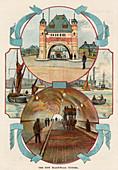 Blackwall Tunnel, London, c1900