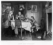 Watt's First Experiment', 18th century