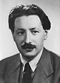 Ernst Boris Chain, German born British biochemist, c1945